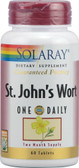 St John's Wort One Daily 60 Tabs, Solaray