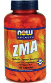 Now Foods ZMA 800 mg 180 Caps, Sports Recovery
