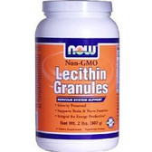 Lecithin Gran Non-GMO 2 LB, Now Foods