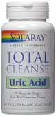 Total Cleanse Uric Acid 60 VCaps, Solaray