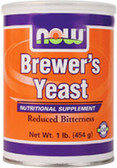Brewers Yeast Powder 1 LB, Now Foods