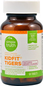 KIDFIT Tigers Natural Berry 60 Chews, Simple Truth