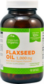 Organic Flaxseed Oil 1000 mg 90 sGels, Simple Truth