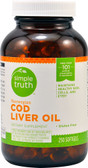 Norwegian Cod Liver Oil 250 sGels, Simple Truth