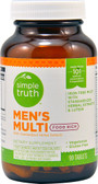 Men's Multi Food Rich 90 Tabs, Simple Truth