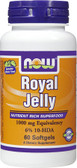 Royal Jelly 1000 mg 60 Softgels, Now Foods