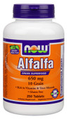Alfalfa 10 Grain 250 Tabs Now Foods, Super Food