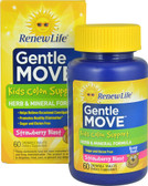 Gentle Move Kids Colon Support Strawberry Blast 60 Chews, Renew Life