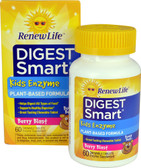 Digest Smart Kids Enzyme Berry Blast 60 Chews, Renew Life
