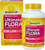 Ultimate Flora Women's Care Probiotic 25 billion 30 VCaps, Renew Life