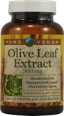 Olive Leaf Extract 300 mg 90 VCaps, Pure Vegan