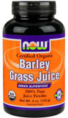 Now Foods  Organic Barley Grass Juice 4 oz