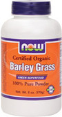 Organic Barley Grass Powder 6 oz, Now Foods