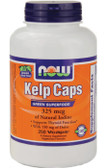 Kelp 250 Caps Now Foods, Thyroid, Super Green Food