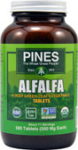 Alfalfa 500 mg 500 Tabs, Pines International