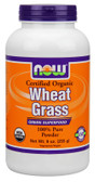 Now Foods Organic Wheat Grass Powder 9 oz