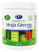 Mega Greens MSM Powder 8 oz, Perfectly Healthy