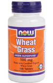 Now Foods Wheat Grass 500 mg 100 Tabs
