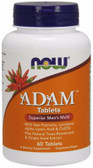 ADAM Superior Men's Multi 60 Tabs, NOW Foods
