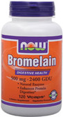Bromelain 2400 GDU, 500 mg 120 vCaps, Now Foods