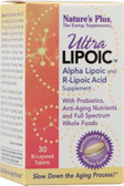 Ultra Lipoic Alpha Lipoic & R-Lipoic Acid 30 Tabs, Nature's Plus