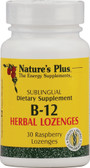 B-12 Herbal Loz Raspberry 30 Loz, Nature's Plus