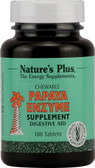 Papaya Enzyme Chewable 180 Tabs, Nature's Plus
