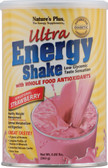 Ultra Energy Shake Sensational Strawberry 0.8 lb, Nature's Plus