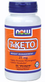 7-KETO 25 mg  90 vCaps, Now Foods, Weight Loss