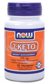 7-KETO 100 mg 30 vCaps, Now Foods, Antioxidant