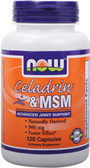 Celadrin & MSM 120 Caps, Now Foods, Joints Support