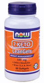 7-Keto LeanGels 100 mg 60 Softgels, Now Foods, Diet
