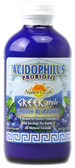 Acidophilus Probiotic Greek Style Smooth Blueberry 8 oz, Nature's Life