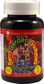 Berry Garden Gummies Kids Multi Natural Cherry 60 Gummies, Nature's Dynamics