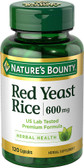 Red Yeast Rice 600 mg 120 Caps, Nature's Bounty