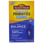 Digestive Probiotics Daily Balance 30 Caps, Nature Made