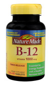 Vitamin B-12 Timed Release 1000 mcg 160 Tabs, Nature Made