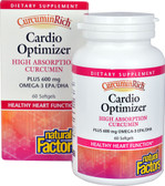 CurcuminRich Cardio Optimizer 60 sGels, Natural Factors