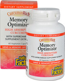 CurcuminRich Memory Optimizer 60 VCaps, Natural Factors