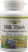 Milk Thistle 250 mg 60 Caps, Natural Factors