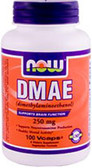 DMAE 250 mg 100 vCaps, Now Foods
