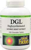 DGL Deglycyrrhizinated Licorice Root Extract 180 Chews, Natural Factors