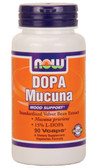 Dopa Mucuna 400 mg 90 Caps Now Foods, Mood Support
