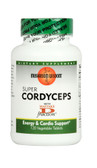 Super Cordyceps 120 Vegetable Tabs, Mushroom Wisdom