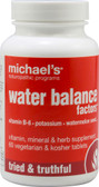 Water Balance Factors 60 Veggie Tabs, Michael's Naturopathic Programs