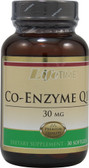 Co-Enzyme Q10 30 mg 30 sGels, Lifetime