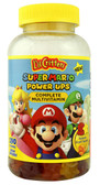 Super Mario Power Ups Complete Multivitamin Fruit 190 Gummies, L'il Critters