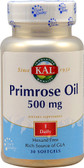 Primrose Oil 500 mg 30 sGels, KAL