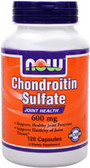 Chondroitin Sulfate 600 mg 120 Caps, Now Foods, Joints