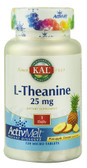 L-Theanine Pineapple Dream 25 mg 120 MicroTabs, KAL